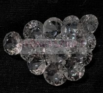 Swarovski chaton - 8mm -  Crystal Ignite fóliázatlan