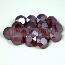 Swarovski chaton - 8mm -  Dark Red -