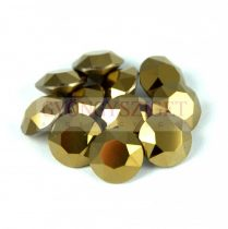 Swarovski chaton - 8mm -  Crystal dorado 2x
