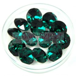 Swarovski chaton - 8mm -  Emerald  - 1088