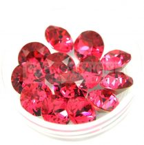 Swarovski chaton - 8mm -  Indian Pink  - 1088
