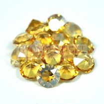 Swarovski chaton - 8mm -  Jonquil Golden Shadow - xirius fóliázatlan