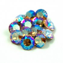 Swarovski chaton - 8mm -  Light Colorado Topas Shimmer - 1088