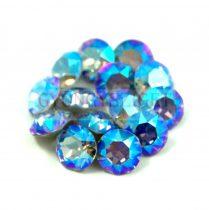 Swarovski chaton - 6mm -  Light Sapphire Shimmer -  1088