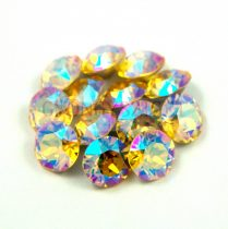 Swarovski chaton - 8mm -  Light Topas Shimmer