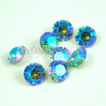 Swarovski chaton - 8mm -  Light Turquoise Blue AB  - xirius