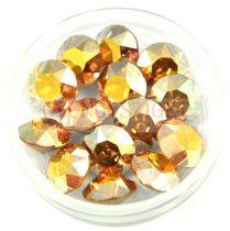 Swarovski chaton - 8mm -  Crystal Metallic Sunshine
