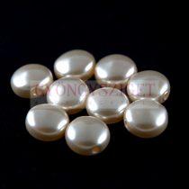 Swarovski Crystal Coin gyöngy - 5860 - 10mm - Cream Rose Light