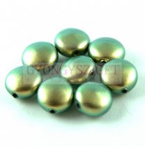 Swarovski Crystal Coin gyöngy - 5860 - 10mm - Iridescent Green