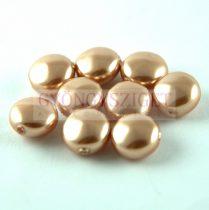 Swarovski Crystal Coin gyöngy - 5860 - 10mm - Rose Gold