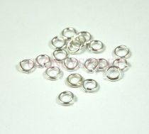 Szerelőkarika - ezüst színű -5mm