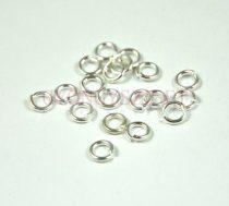 Szerelőkarika - ezüst színű - 3mm