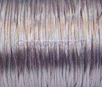 Selyem zsinór (rattail)-1mm-halvány lila
