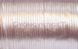 Selyem zsinór (rattail)-2mm-baby pink