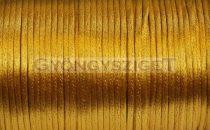 Selyem zsinór (rattail)-2mm-gold