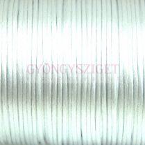 Selyem zsinór (rattail)-2mm - Light Silver