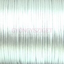 Rattail - Silky Finish Synthetic Cord - 2mm - Light Silver