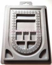 Ékszer készítő tálca - 16x23cm (A5)