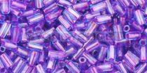 Toho szalmagyöngy - 252 - pink közepű aqua -3mm