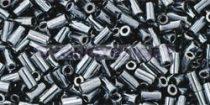 Toho szalmagyöngy - 81 - hematit-3mm