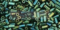 Toho szalmagyöngy - 84 - metallic iris green/brown-3mm