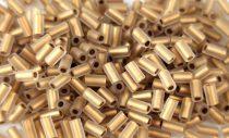 Toho szalmagyöngy - 989fm - arany közepű szivárványos matt kristály -3mm