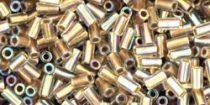 Toho szalmagyöngy - 994 - arany közepű szivárványos kristály -3mm