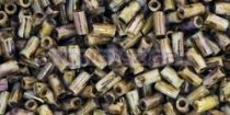 Toho szalmagyöngy - y185 - hybrid arany lüszteres telt topáz -3mm