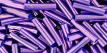 Toho szalmagyöngy - 461 - higher metallic grape-9mm