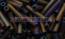 Toho szalmagyöngy - 615 - matt bíbor írisz -9mm