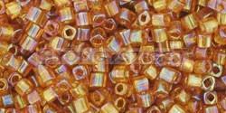 Toho kocka gyöngy - 162c - Transparent Rainbow Topaz - 1.5mm