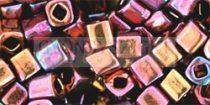 Toho kocka gyöngy - 502 - higher metallic amethyst - 1.5mm