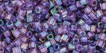 Toho kocka gyöngy - 928 - bíbor közepű rózsa - 1.5mm