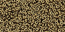Toho demi round gyöngy - 221 - Bronze - 11/0