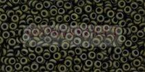 Toho demi round gyöngy - 617 - matte dark olive - 11/0
