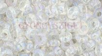 Toho demi round gyöngy - 161 - Rainbow Crystal  - 6/0