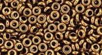 Toho demi round gyöngy - 221 - Bronze - 8/0