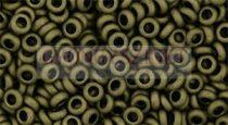 Toho demi round gyöngy - 617 - matte dark olive - 8/0