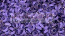 Toho demi round gyöngy - 977 - Neon Purple Lined Crystal - 8/0