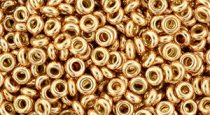Toho demi round gyöngy - pf551 - PermaFinish - Galvanized Rose Gold - 8/0