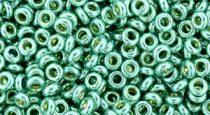 Toho demi round gyöngy - pf561 - PermaFinish - Galvanized Green Teal - 8/0