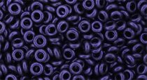 Toho demi round gyöngy - y612 - HYBRID Metallic Suede Purple - 8/0