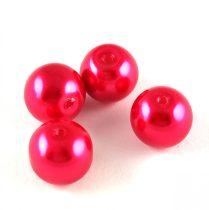 Tekla golyó gyöngy - Red - 10mm
