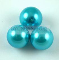 Tekla golyó gyöngy - Turquoise - 14mm