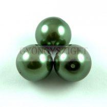 Tekla golyó gyöngy - Tahiti Green - 16mm