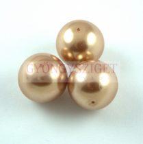 Tekla golyó gyöngy - Golden Bronze - 16mm