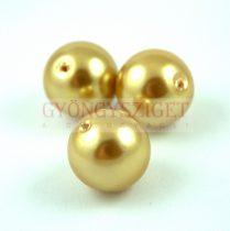 Tekla akril golyó gyöngy - Gold - 18mm