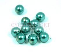 Tekla golyó gyöngy - green -8mm