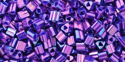 Toho háromszög gyöngy - 461 - Higher Metallic Grape - 11/0