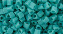 Toho háromszög gyöngy - 55 - Opaque Turquoise - 11/0